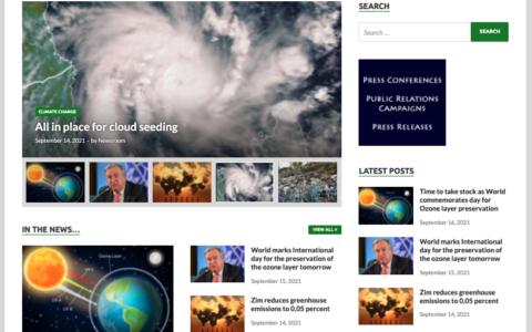 EnviroZim website