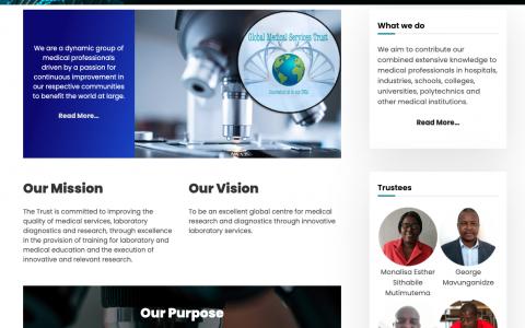 Global Medical Services Trust Website